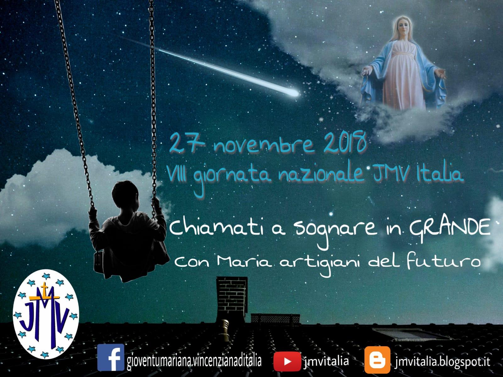 8^ Giornata nazionale della Gioventù Mariana Vincenziana d'Italia