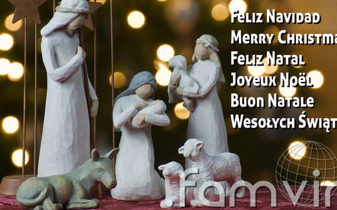 Natale felice e solidale dal team .famvin
