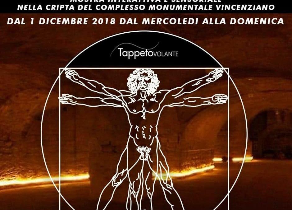 """La mostra di Leonardo nella cripta """"ritrovata"""" della Casa della Missione dei Vergini – Napoli"""