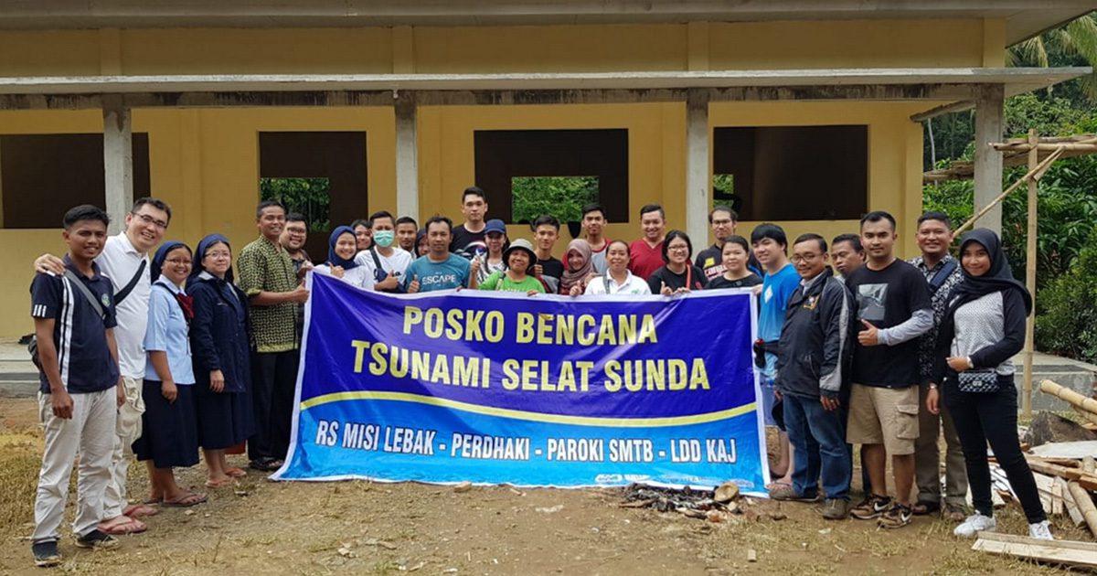 La Famiglia Vincenziana assiste le vittime del recente Tsunami in Indonesia
