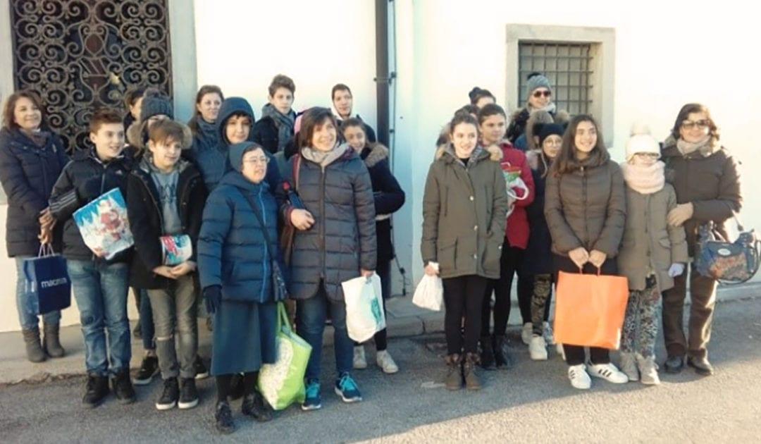 Esperienze di servizio con i ragazzi della catechesi