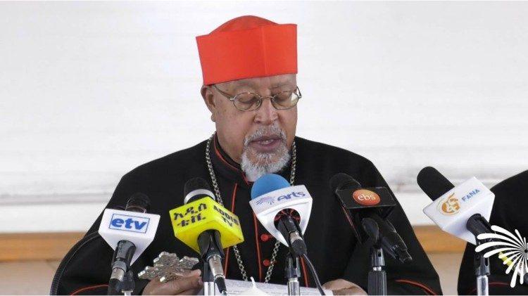 Il cardinale Souraphiel, Vincenziano, coordinatore della Commissione nazionale per la riconciliazione e la pace