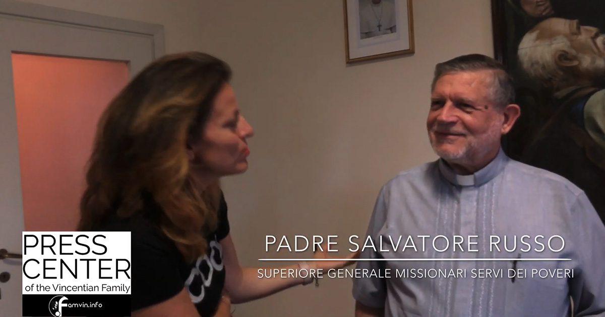 Intervista a Padre Salvatore Russo, Superiore Generale dei Missionari Servi dei Poveri