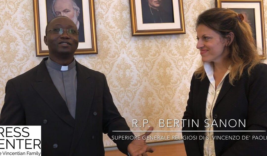 Intervista a padre Bertin Sanon, Superiore Generale dei Religiosi di San Vincenzo de' Paoli