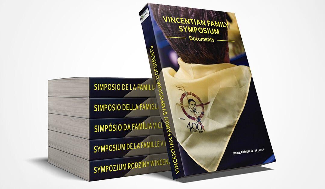 Si pubblica il libro del Simposio della Famiglia Vicenziana