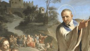 San Vincenzo predica la missione