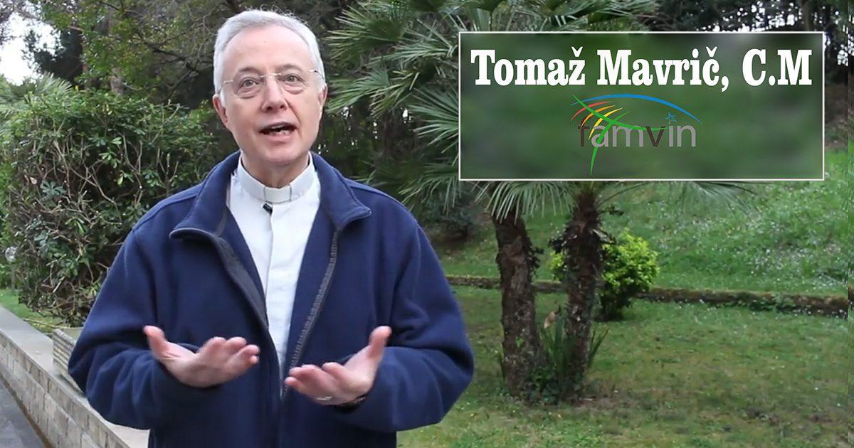 Messaggio pasquale, padre Tomaž Mavrič