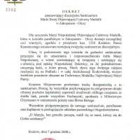 dekret dla Olczy