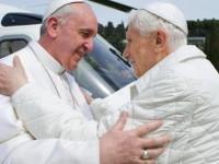 ITALY POPE FRANCIS MEEST BENDICT XVI