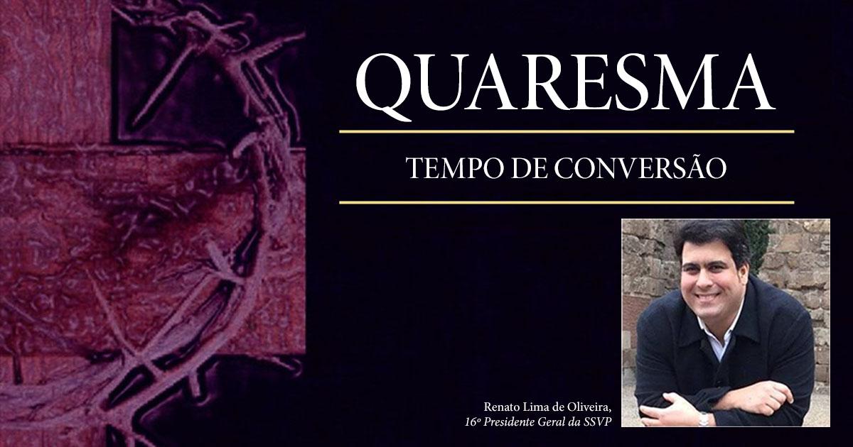 Quaresma: tempo de conversão, jejum, oração e caridade