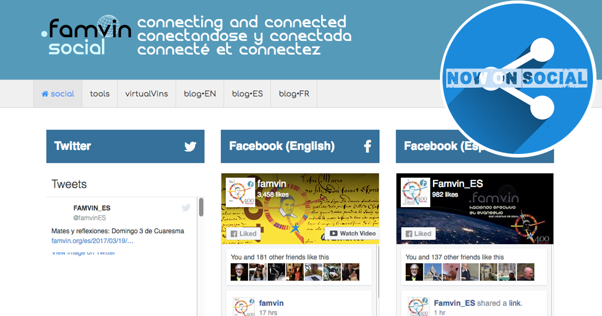A renovação da Rede Digital .famvin
