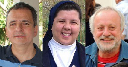 Irmã Alessandra Souza (FC), Eduardos Marques (SSVP) e Mizael Poggioli (CM) vão fazer palestras nos Simpósio da Família Vicentina em Roma.