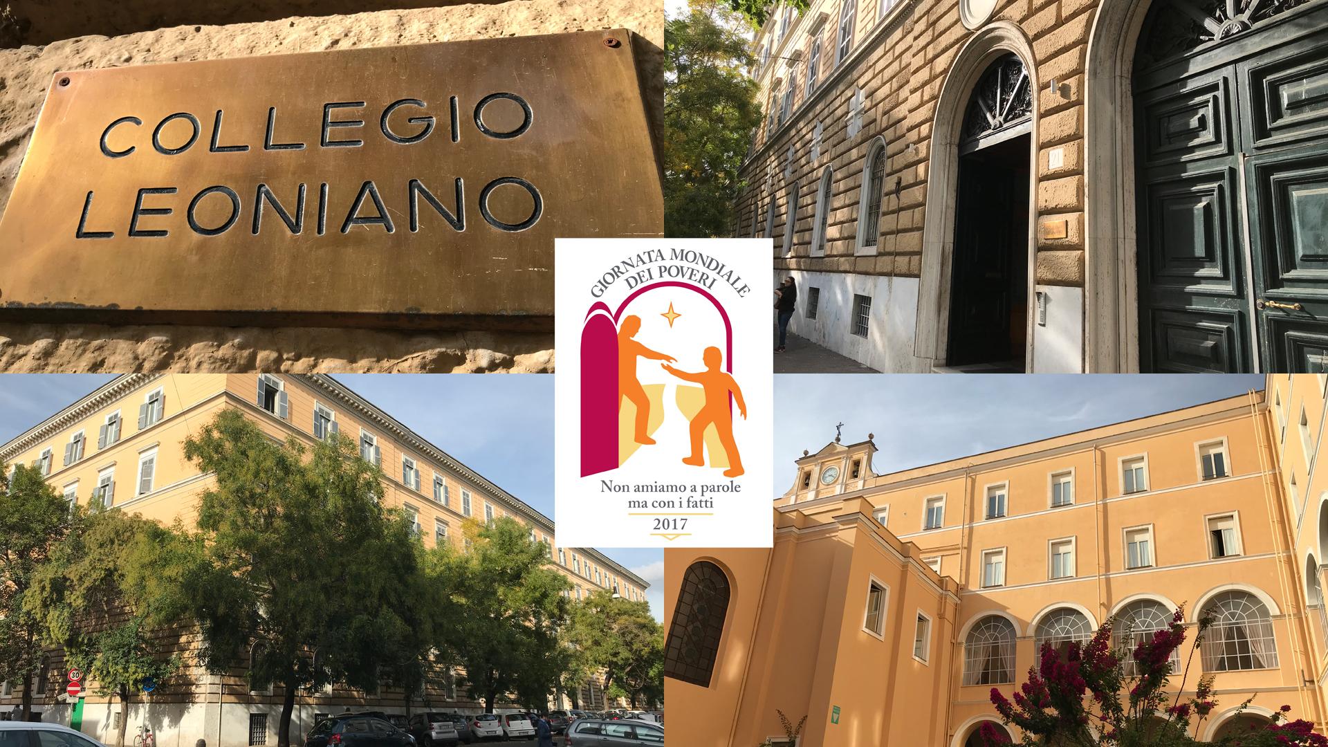 Vaticano escolhe colégio vicentino em Roma para almoço pelo Dia Mundial dos Pobres