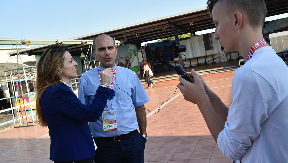 Elena Grazini, nova responsável pelo escritório de imprensa da Família Vicentina