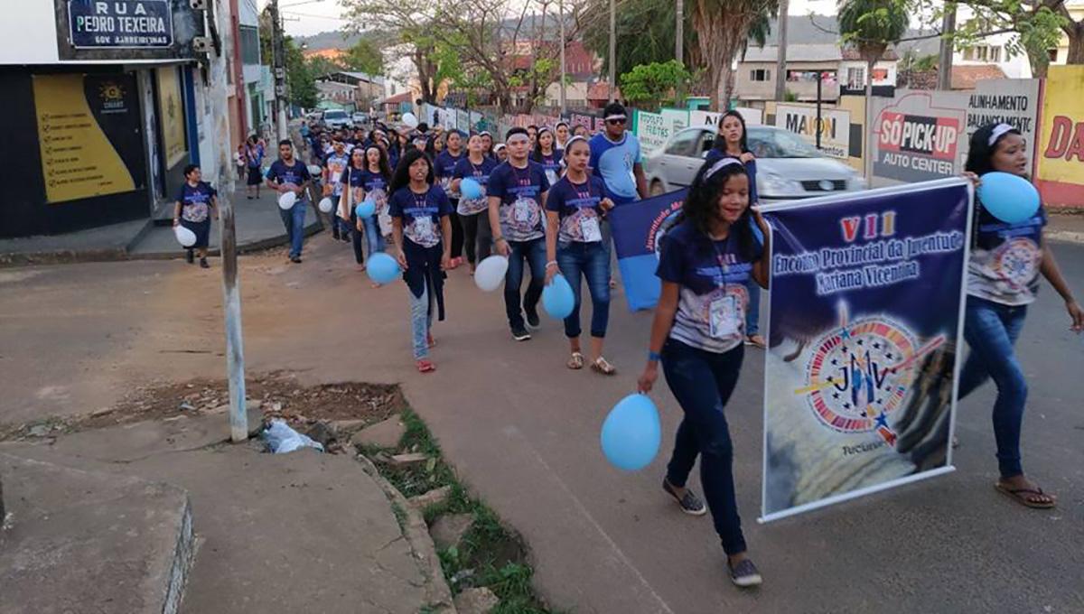 A força e perseverança da JMV na Amazônia