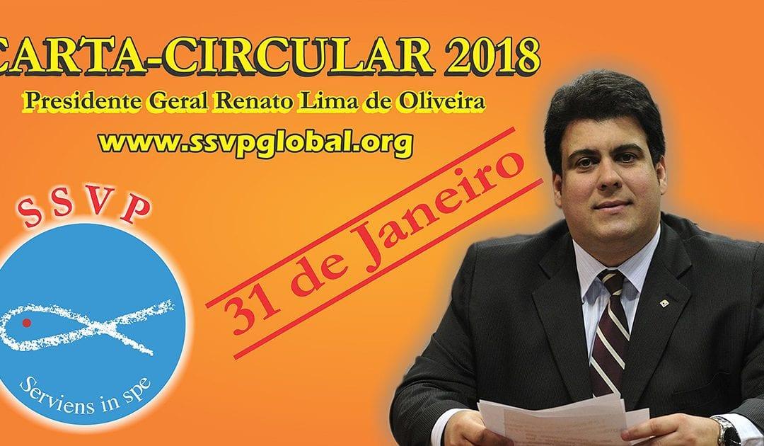 A Carta-Circular do presidente geral da Sociedade de São Vicente de Paulo