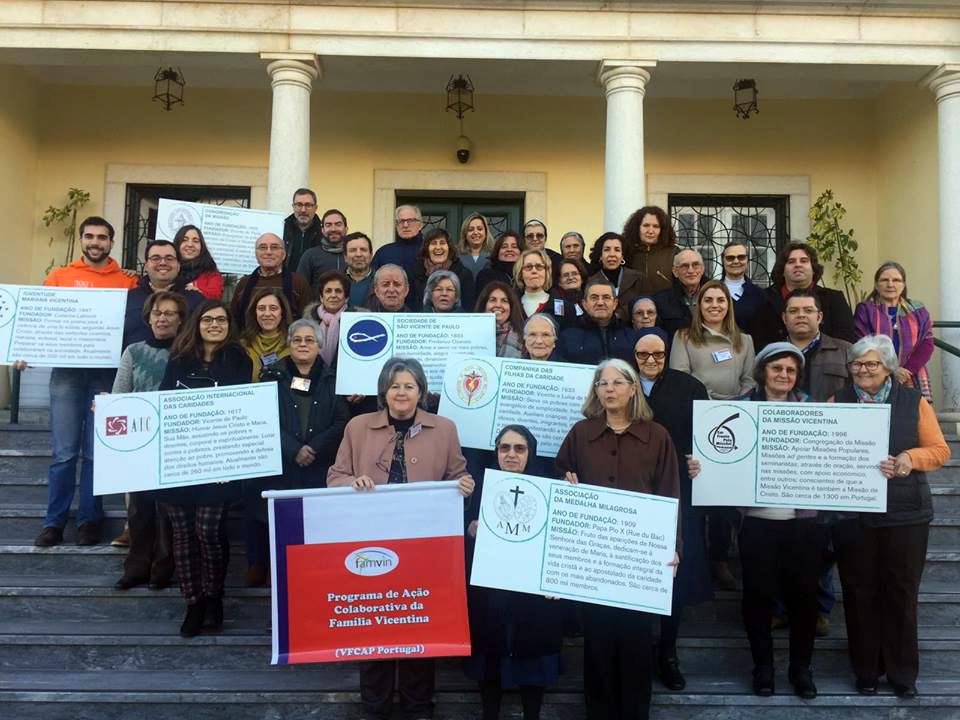 Fátima (Portugal) recebeu o Programa de Ação Colaborativa da Família Vicentina
