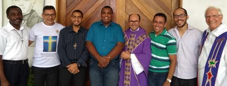 Sete jovens brasileiros estão em formação nos Religiosos de São Vicente