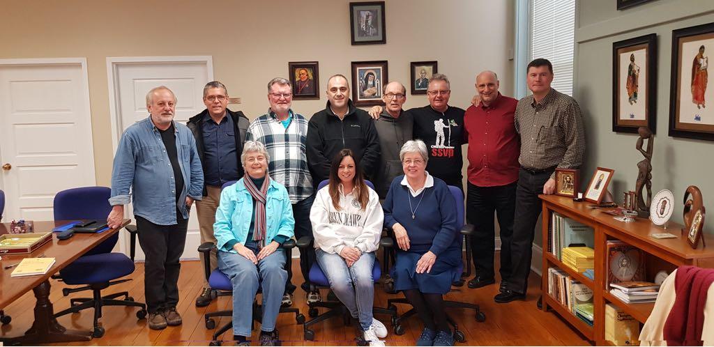 Família Vicentina Internacional reúne sua força-tarefa de Formação