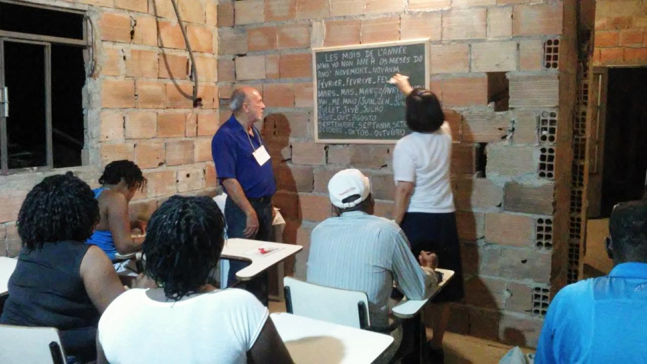 Testemunho das Filhas da Caridade de Belo Horizonte (Brasil) que trabalham junto aos imigrantes haitianos