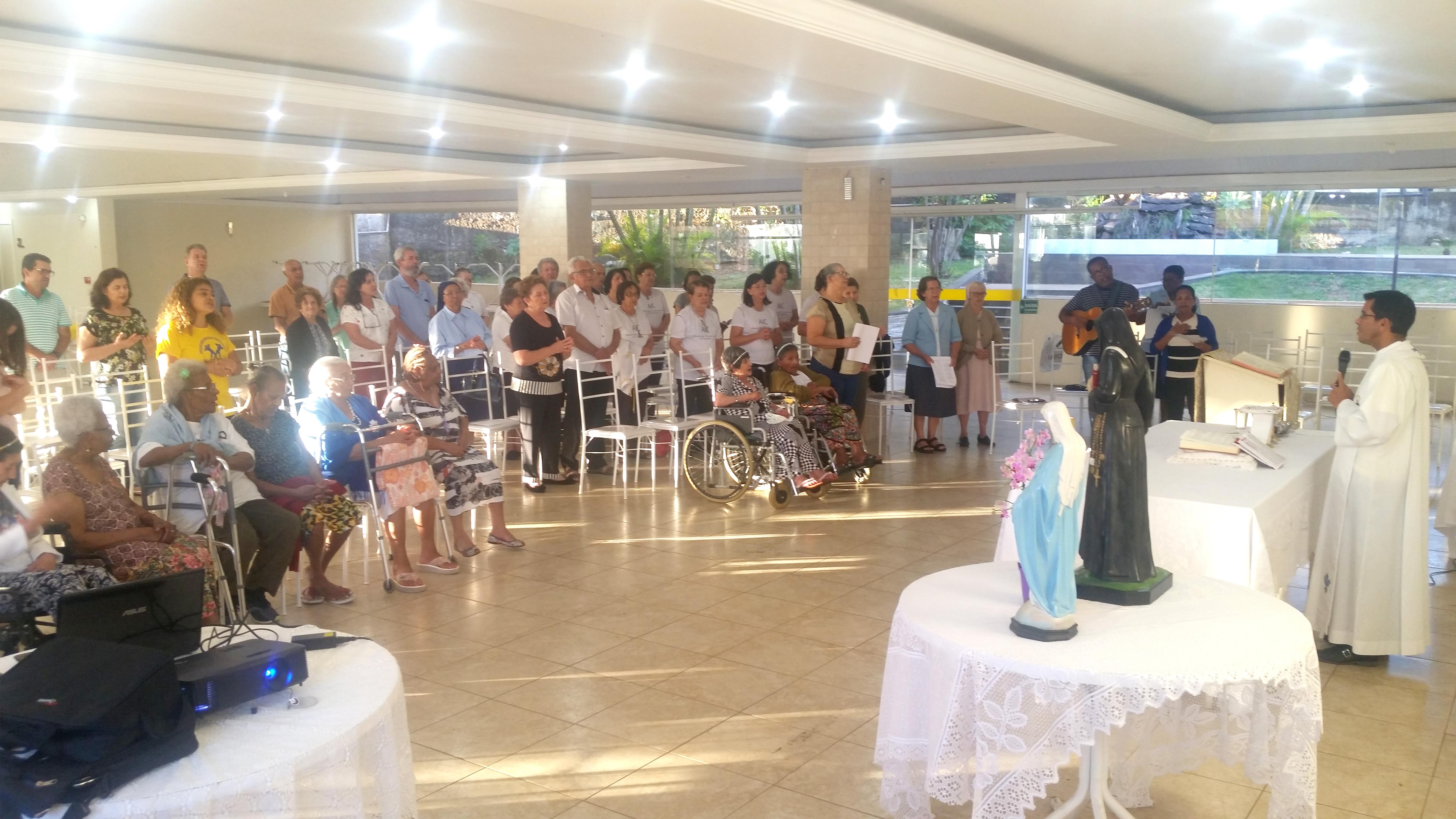 Comemoração pelo dia de Santa Luísa de Marillac em Brasília (Brasil)