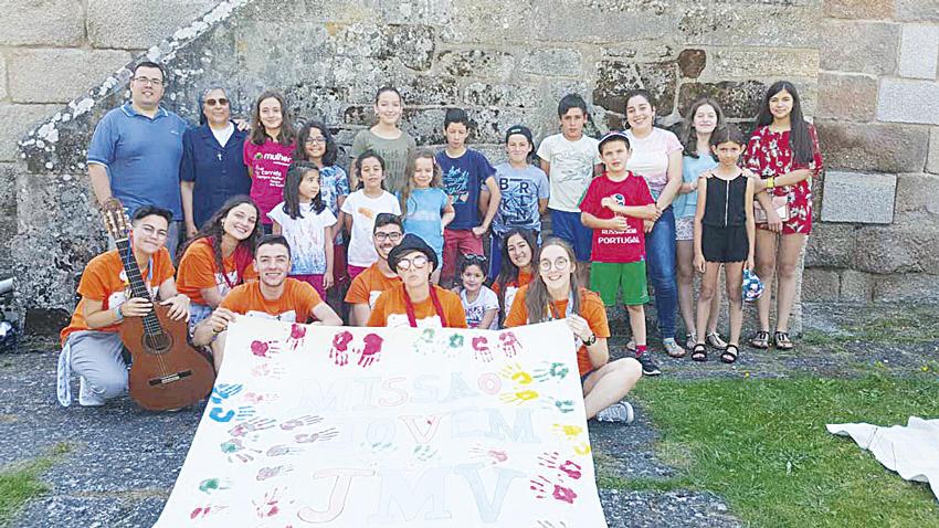 Evangelização: Juventude Mariana Vicentina dinamizou missão em Chaves