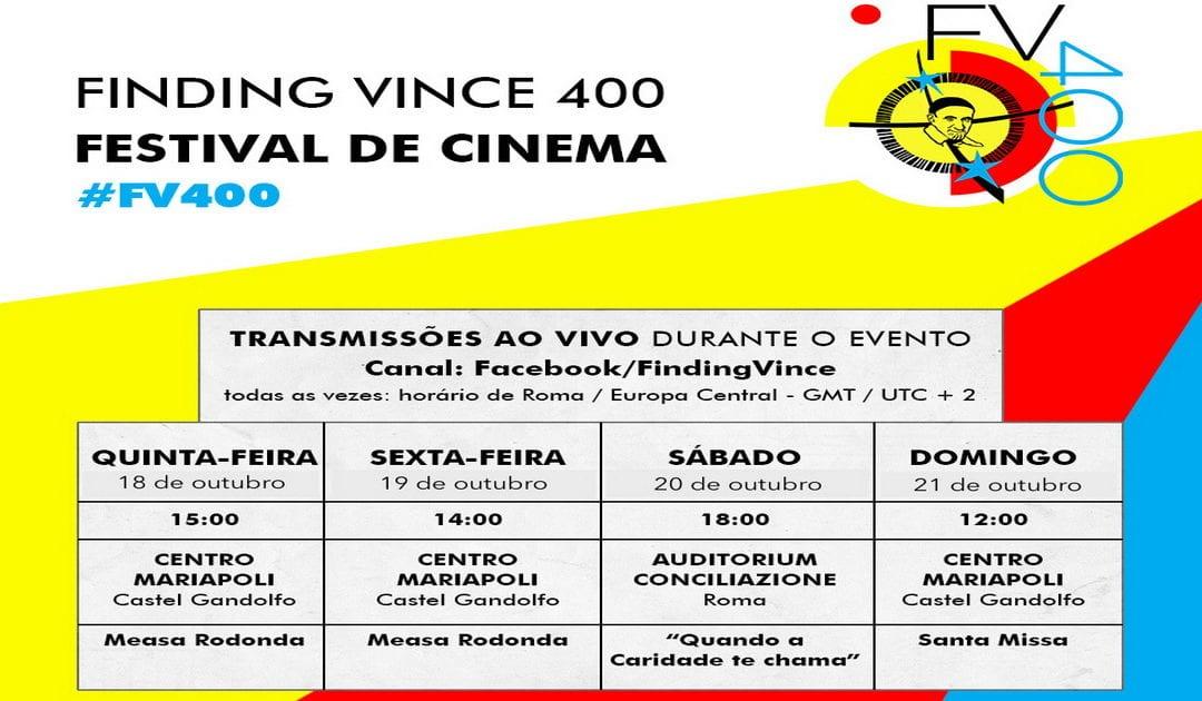 """""""Finding Vince 400"""" será transmitido ao vivo no Facebook"""