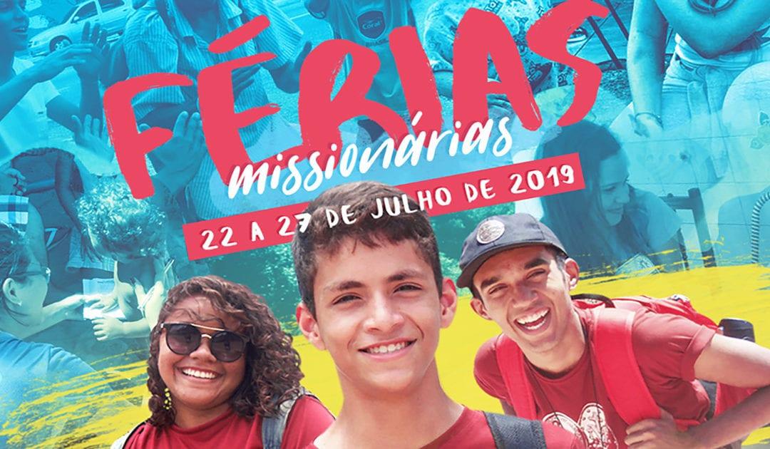Férias missionárias da JMV no Brasil