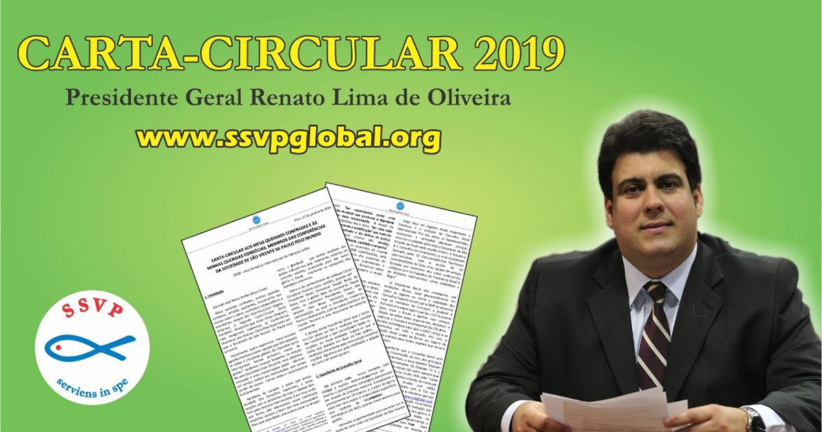 Em nova Carta-Circular, o Presidente Geral da SSVP convida os vicentinos do mundo inteiro a buscarem a santidade