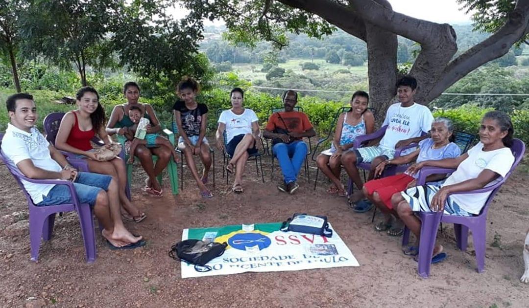 Missionários defendem o amor entre os vicentinos no Piauí