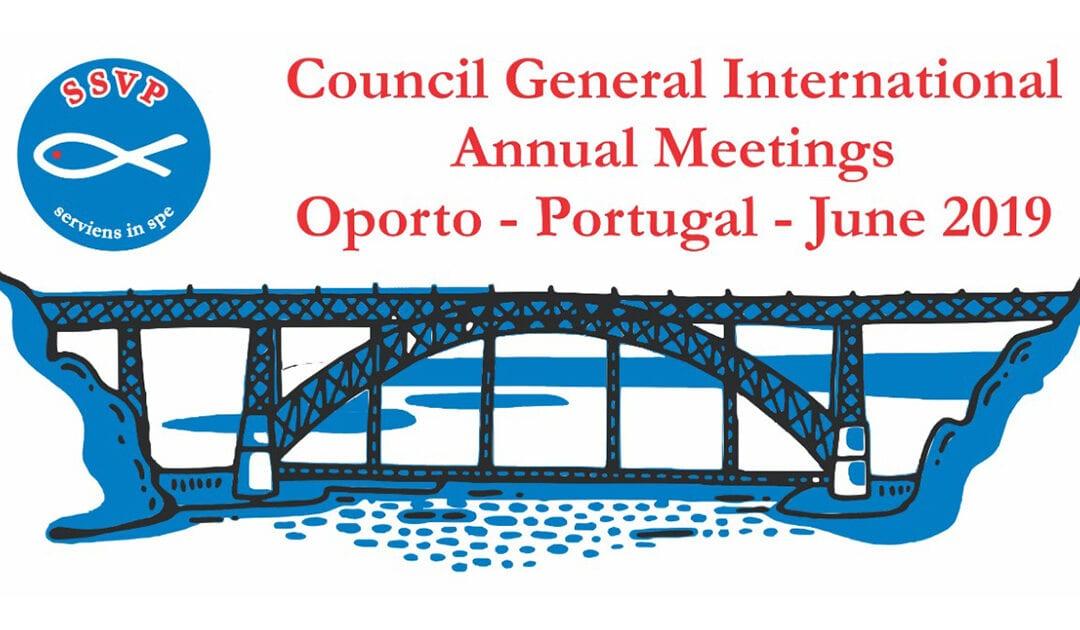 A cidade do Porto vai sediar as próximas reuniões anuais do Conselho Geral Internacional da SSVP