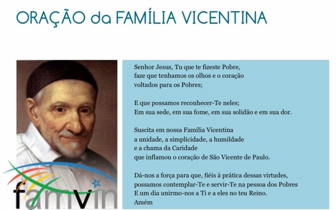 Oração da Família Vicentina #FamVin2020Roma