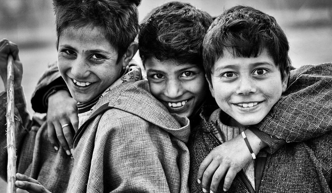 A Caridade é um sorriso