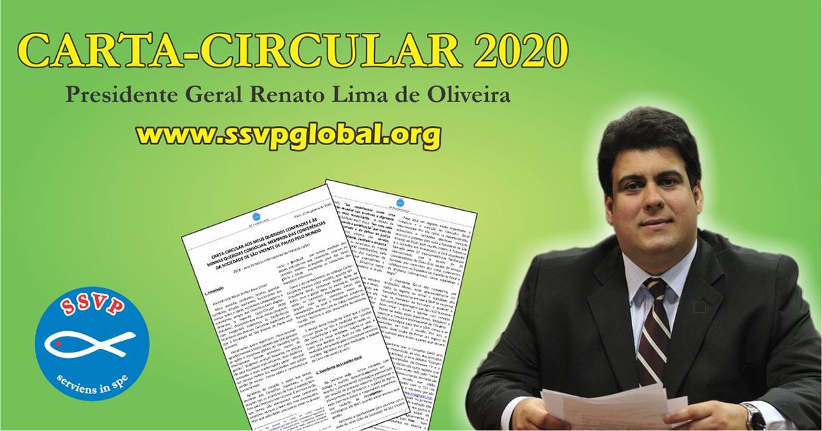 Carta-Circular 2020 do Presidente Geral da Sociedade de São Vicente de Paulo