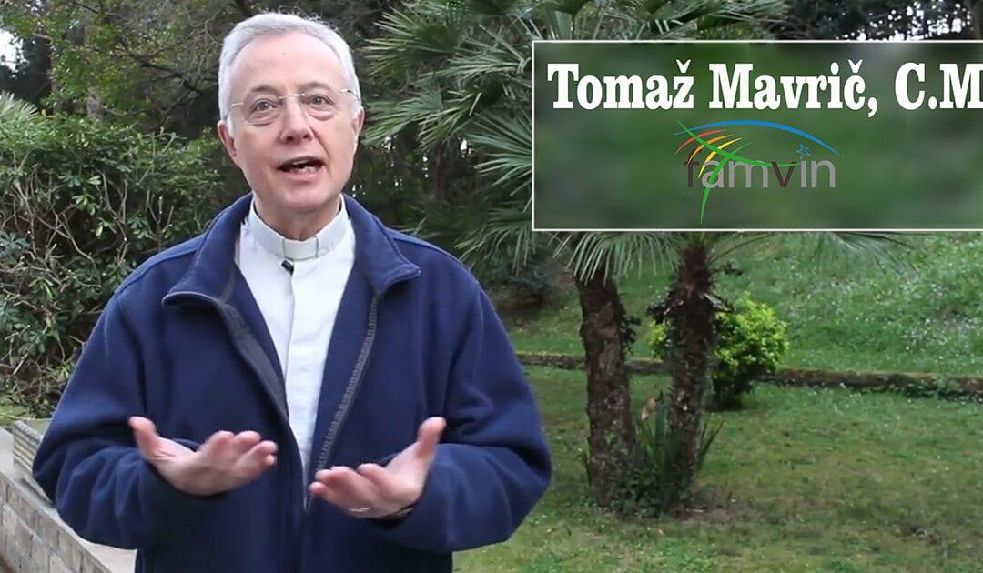 Em mensagem de Páscoa, padre Tomaz Mavric lembra que Carisma vicentino busca os que sofrem