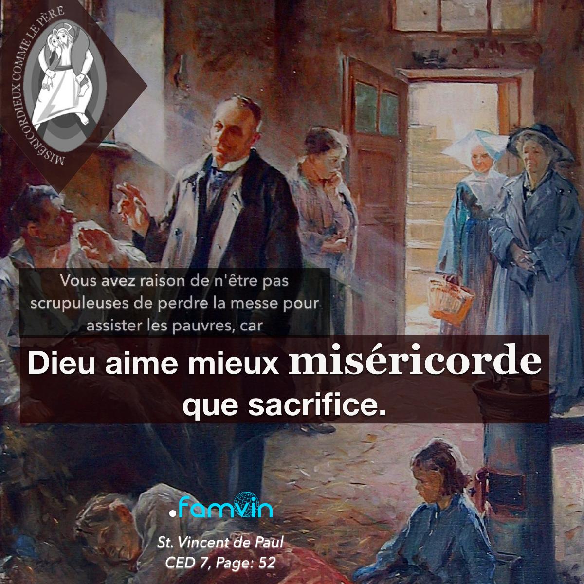 L'Anneé de la Miséricorde pour les Vincentiens 18.10.2016