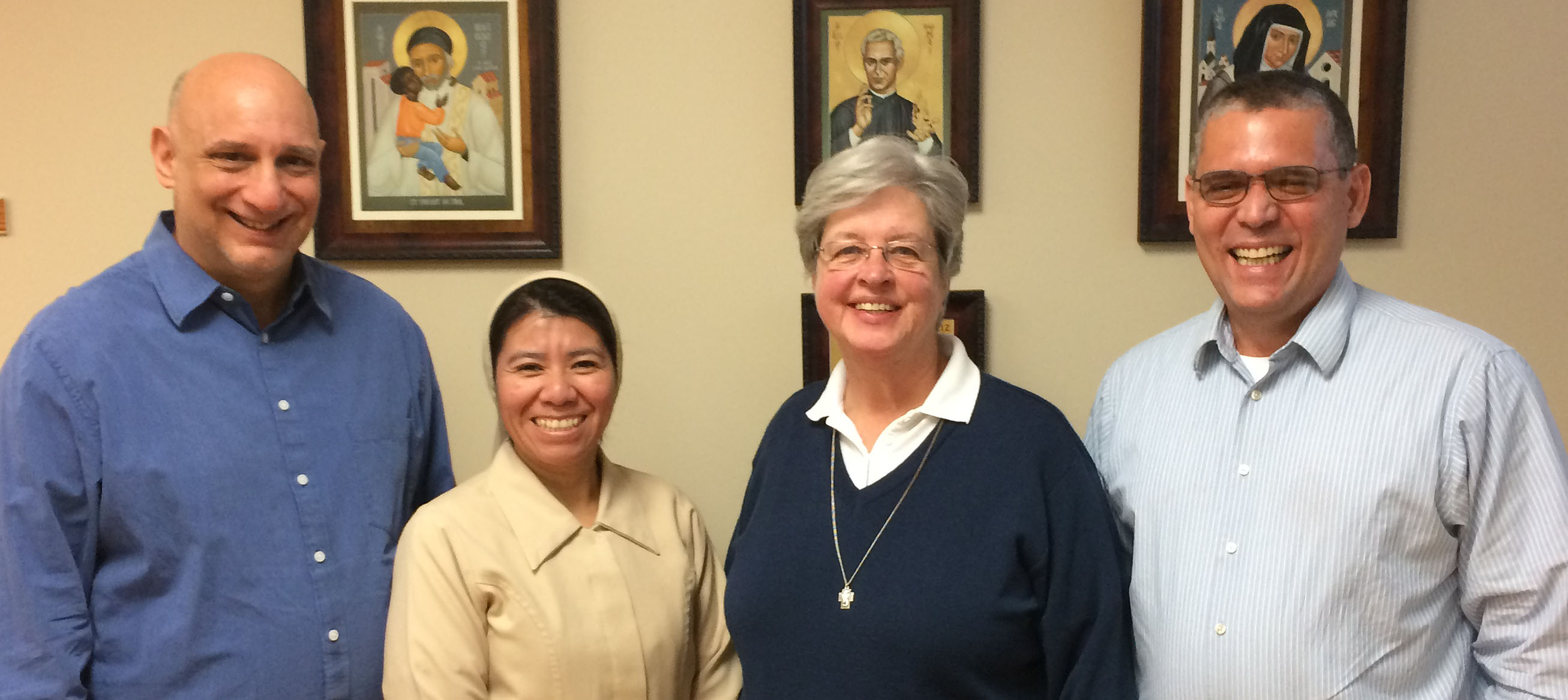 Getting to know the Team of the Vincentian Family Office (IV)