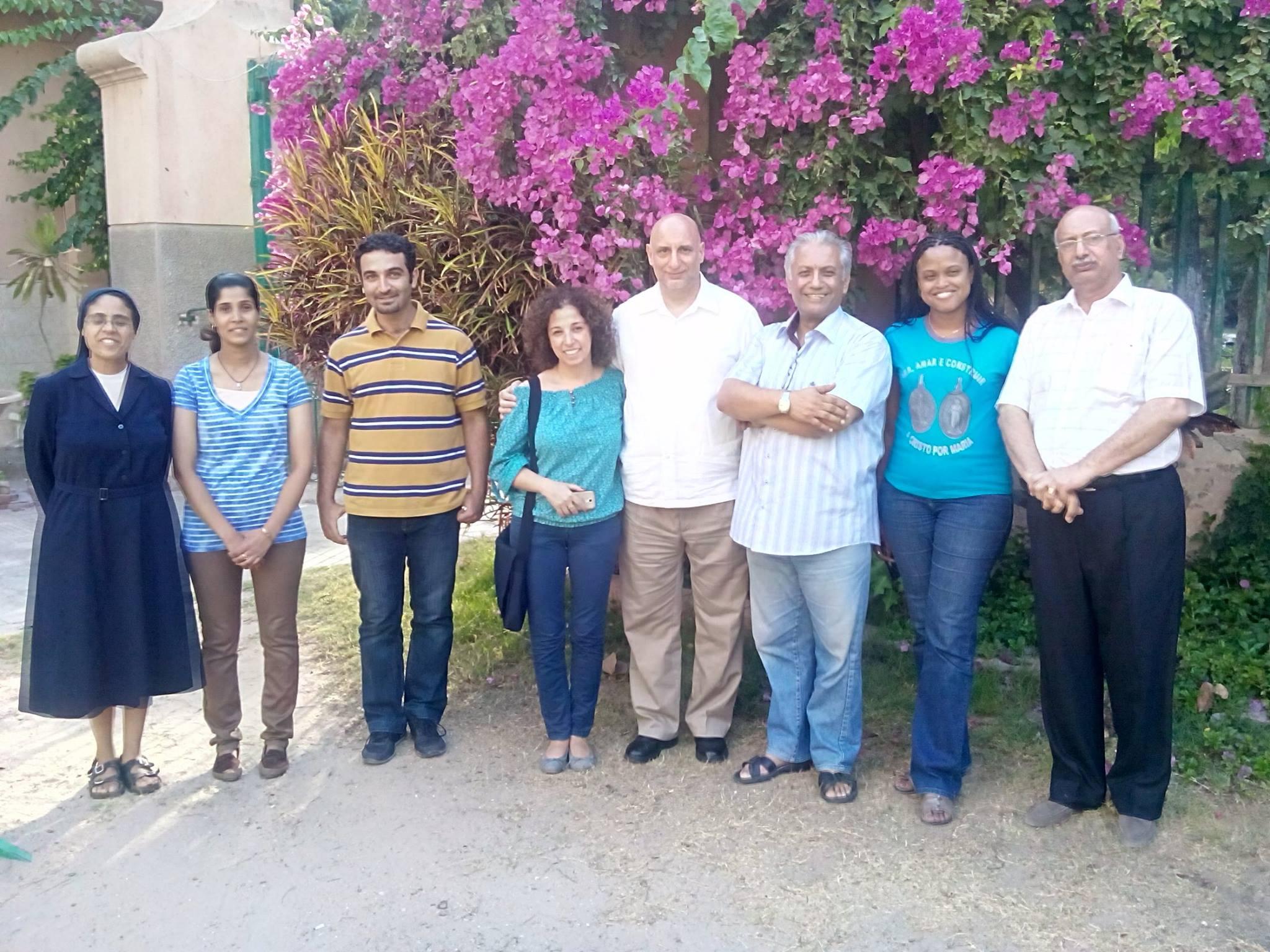 Visite des membres de la VFCC à la FV en Egypte
