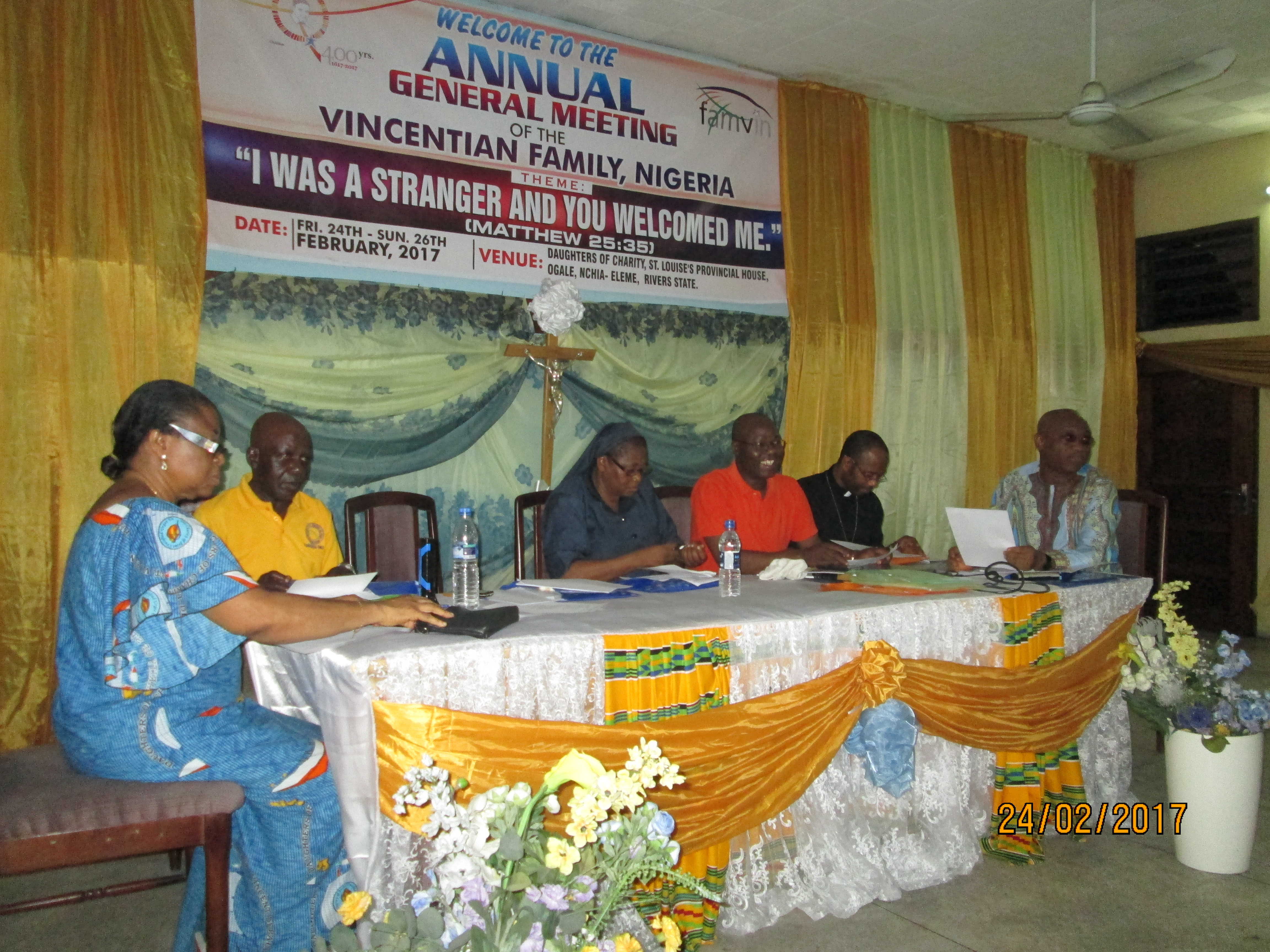 Vincentian Family Annual General Meeting in Nigeria 2017