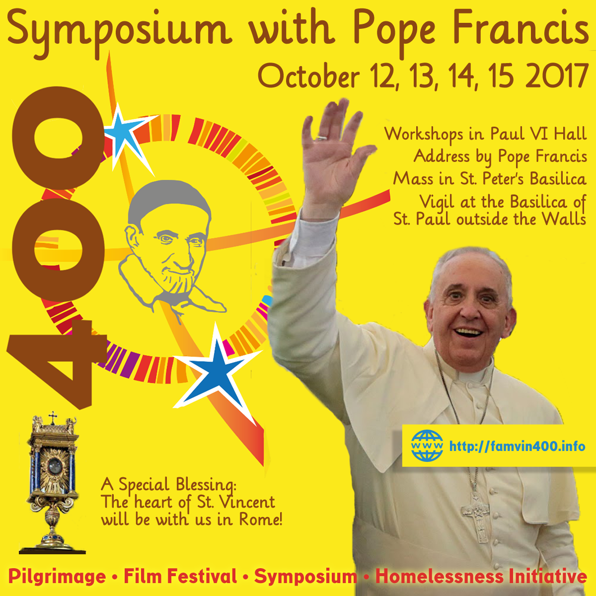 Symposium with Pope Francis
