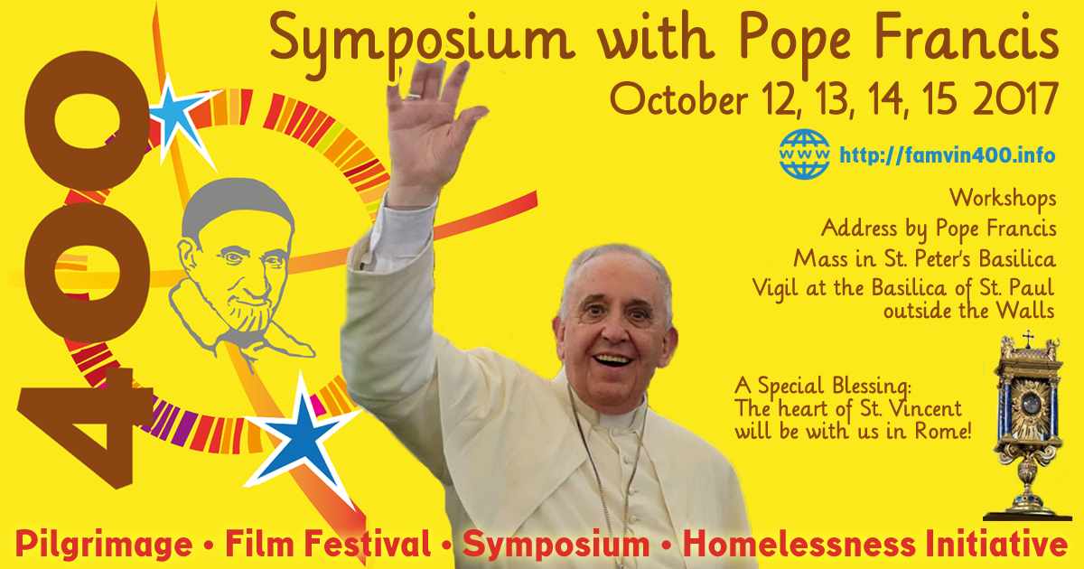 International Leaders of the Vincentian Family invite us to the Symposium (2)