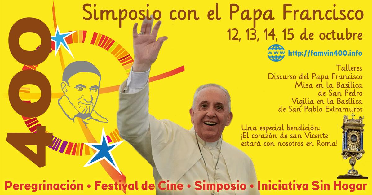Si vas a participar en el Simposio Vicentino, esto es para tí!