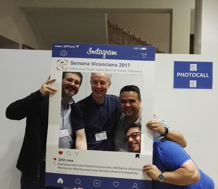 XLI Semana de Estudios Vicencianos en Salamanca, España