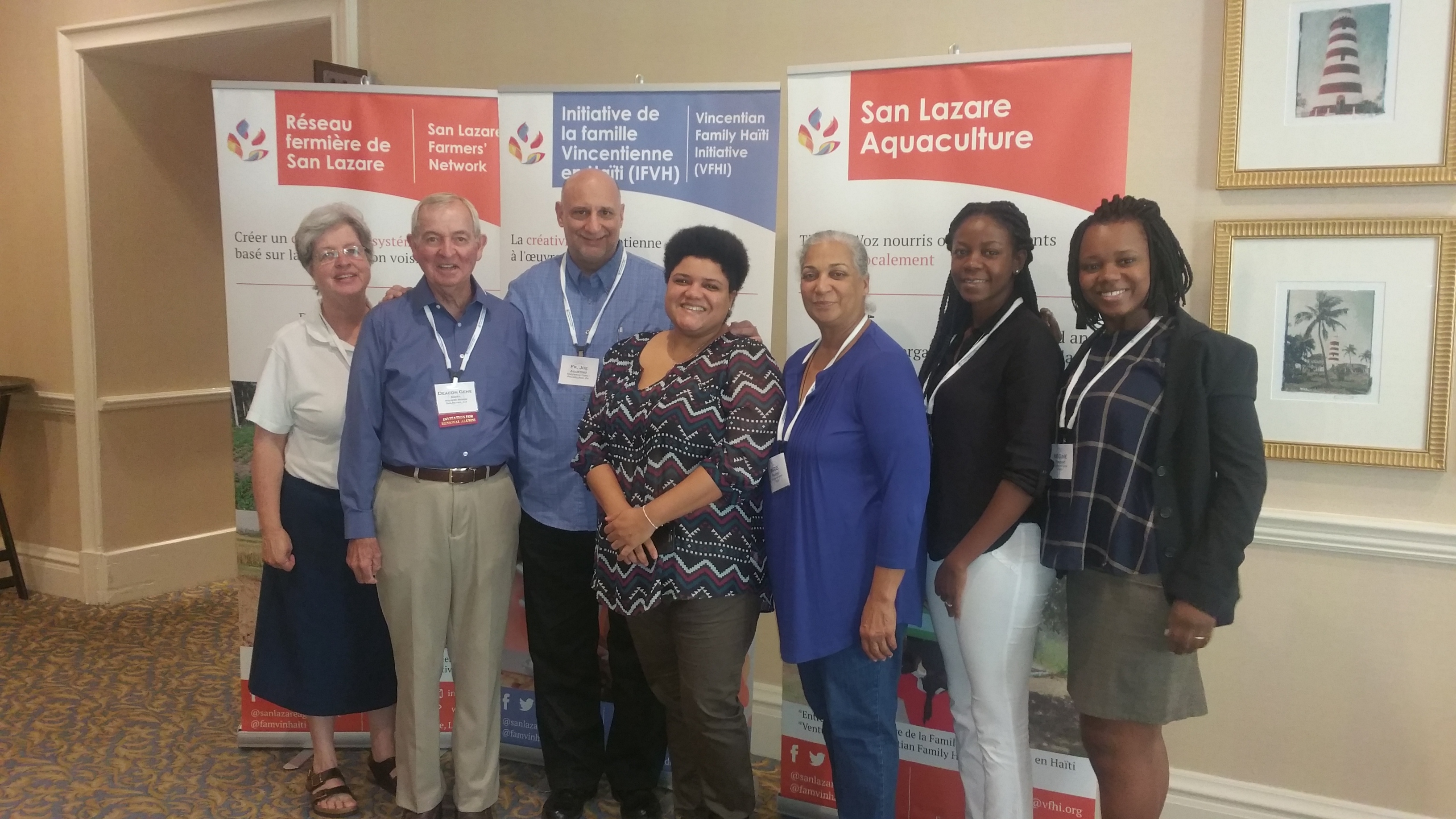 The Haiti Initiative Commission meets during SSVP, USA National Annual Meeting
