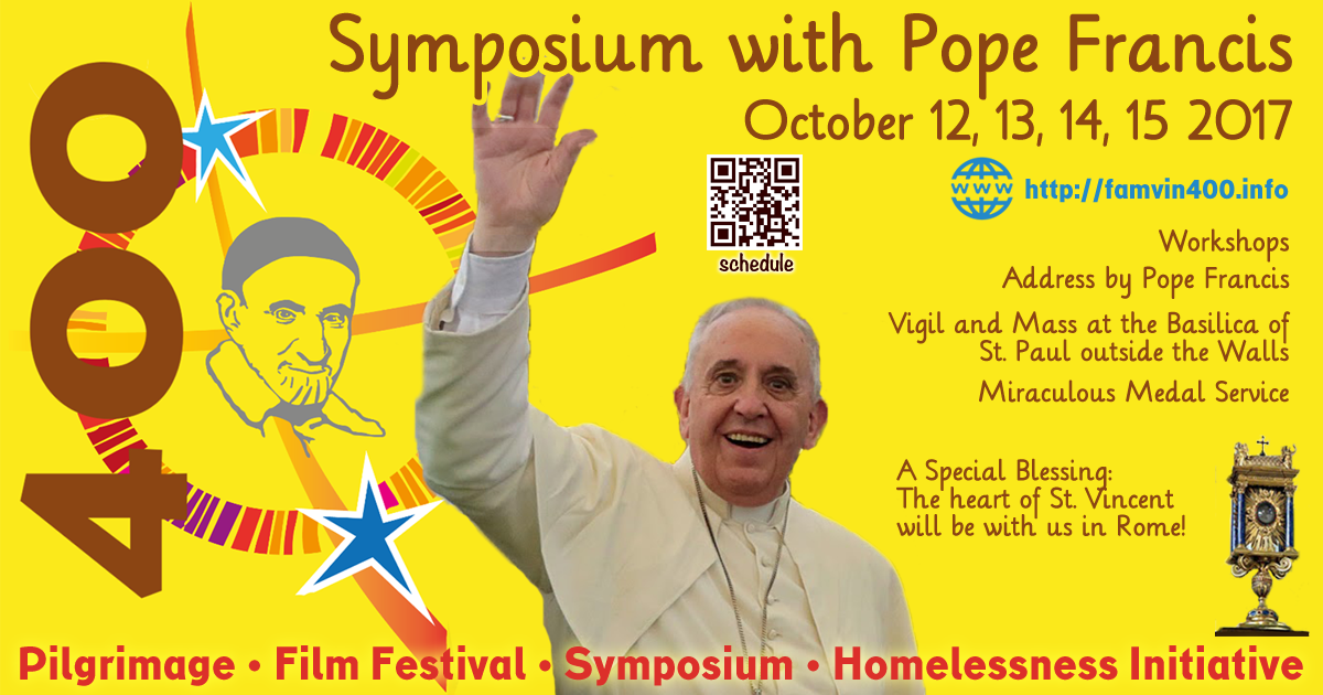 Check out the Latest Updated Schedule of the Vincentian Symposium