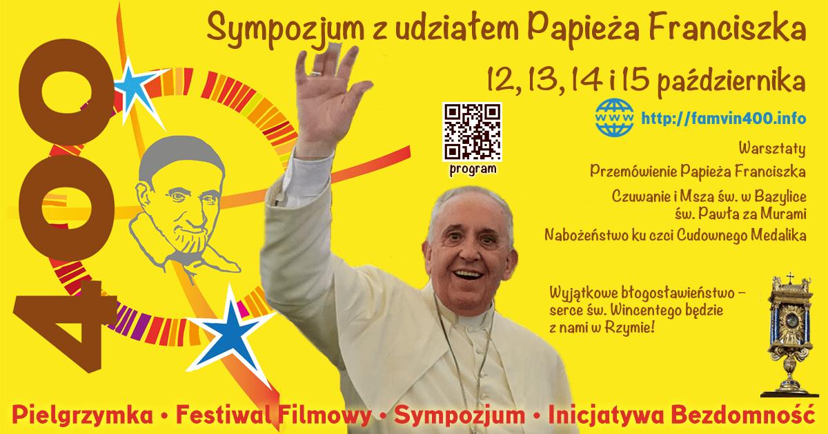 Sprawdź uaktualniony program Sympozjum wincentyńskiego